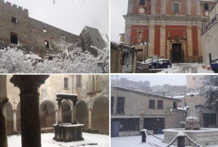 Moliterno sotto la neve: 15 foto simbolo del paese innevato il 5/01/2017 – #SOCIALviaggi