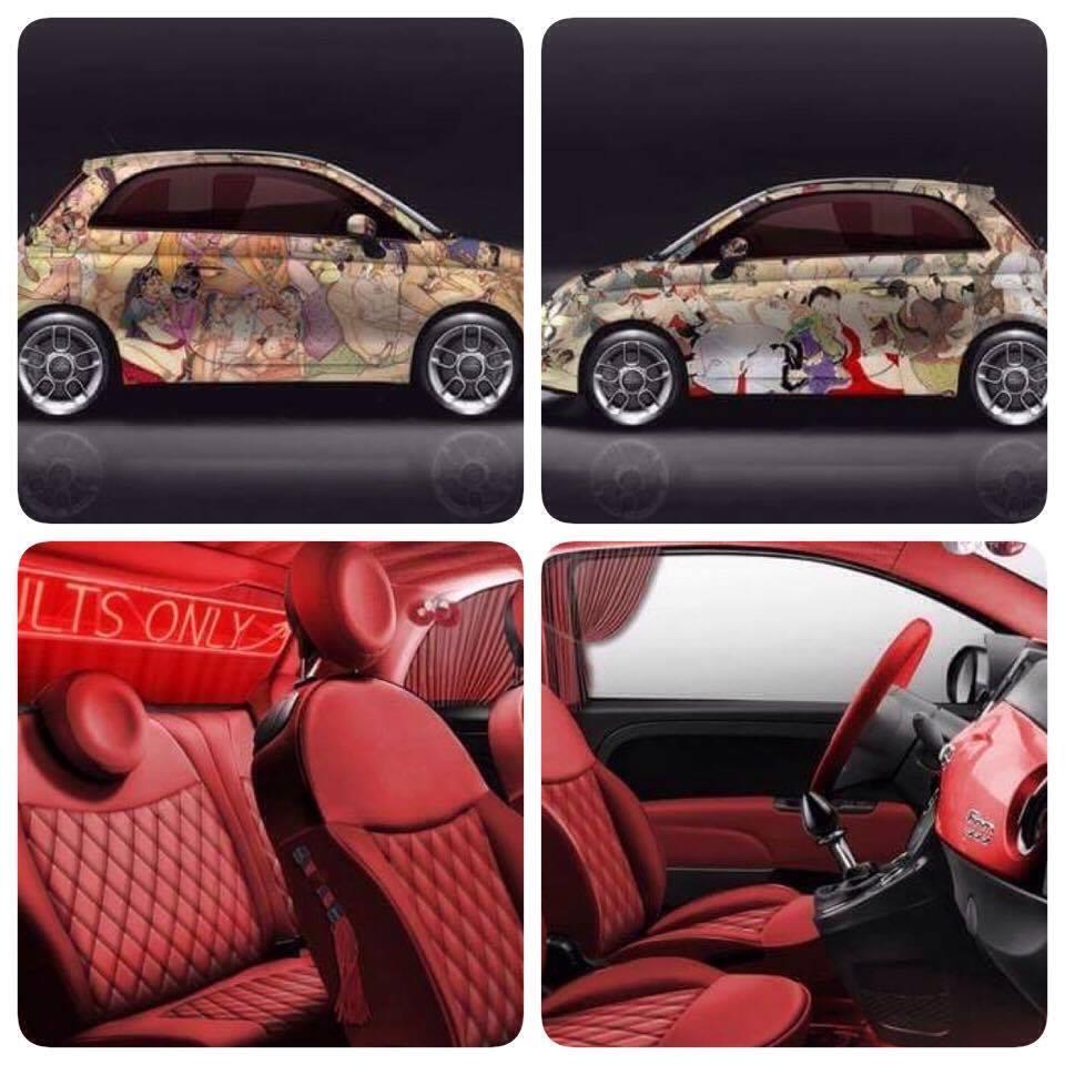 Fiat 500 kar masutra lapo elkann torna e provoca sui for Fiat 500 karmasutra