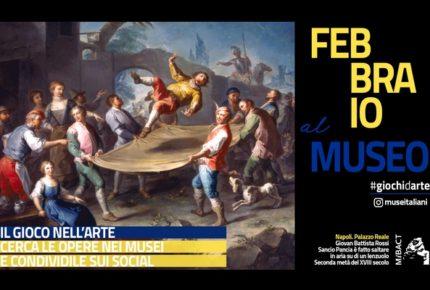 #giochidarte: la campagna social dei musei di febbraio 2018