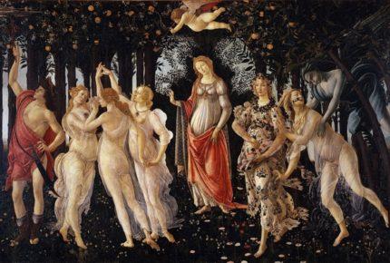 #BotticelliSpringMarathon: campagna social degli Uffizi di Firenze per la Primavera di Botticelli