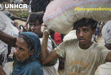 #EmergenzaRohingya: la campagna social dell'Unhcr per i rifugiati Rohingya in Bangladesh