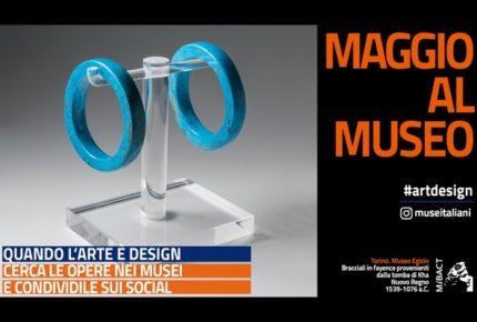 #artdesign: la campagna social dei musei italiani di maggio 2018