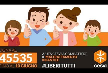 #liberitutti: la campagna social contro il maltrattamento minori