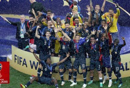 Mondiali di calcio Russia 2018: Francia campione. Guida, risultati, numeri e curiosità dai social media