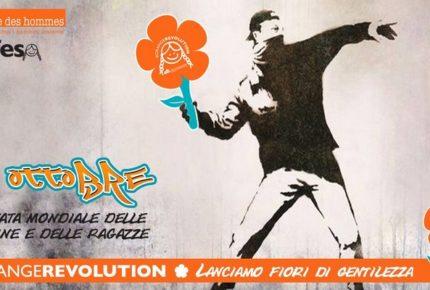 #OrangeRevolution: l'11 ottobre parte la campagna social #indifesa delle bambine vittime di abusi