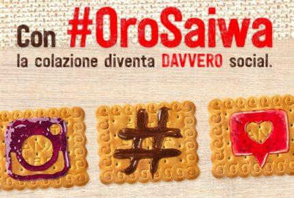 Oro Saiwa lancia la colazione social: donare una colazione in beneficenza con un post su Instagram