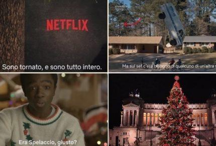 Netflix promuove le serie TV sui social con Spelacchio 2, il nuovo albero di Natale 2018 donato alla città di Roma