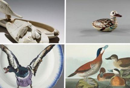 Le anatre nell'arte: il Museum of English Rural Life lancia una sfida su Twitter che coinvolge i musei di tutto il mondo