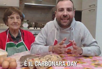 Oggi è il #CarbonaraDay 2019 e Casa Surace e Pasta Garofalo organizzano un flash mob online su Instagram