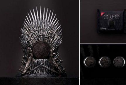 #GameOfCookies: la campagna social dei biscotti Oreo dedicati al 'Trono di spade' (o 'Game of Thrones')