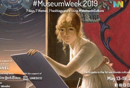 #MuseumWeek 2019: 7 giorni, 7 temi e 7 hashtag per la 6° edizione dei musei sui social media. Dal 13 al 19 maggio