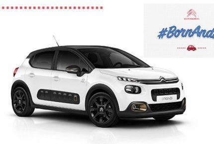 #BornAndré: concorso social di Citroën che regala una C3 Origins a un Andrea nato nel giorno del centenario