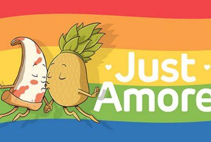 #JustAmore: su Facebook e Instagram il video di Just Eat per Milano Pride che racconta l'amore tra una pizza e un ananas