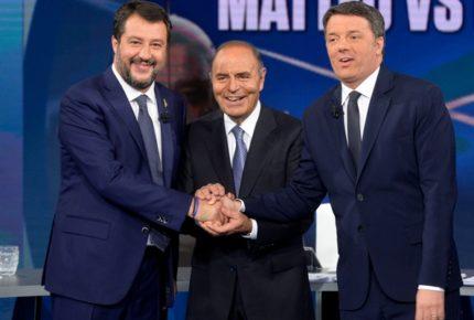 Duello Renzi-Savini a 'Porta a Porta' su Raiuno: live tweeting dei due politici su twitter durante la messa in onda in TV