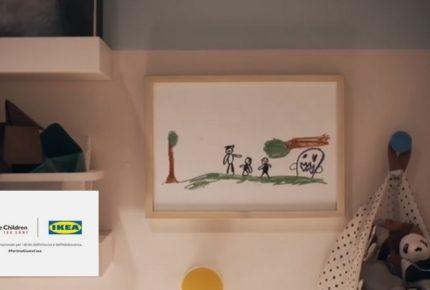 #PerUnaGiustaCausa: la campagna social di Ikea Italia e Save The Children contro la violenza domestica sui bambini