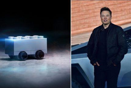 L'instant marketing di Lego sui social dopo la disastrosa presentazione della Tesla Cybertruck 2020 di Elon Musk