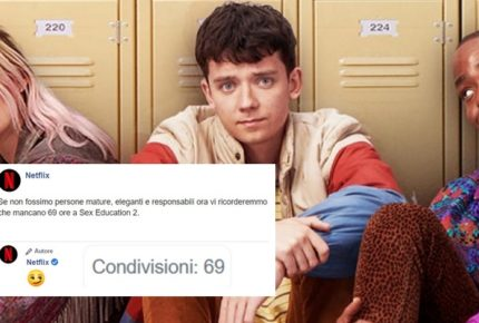 Netflix promuove l'uscita della seconda stagione di 'Sex Education' con una campagna maliziosa e divertente su Facebook