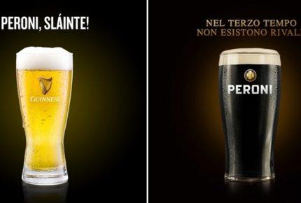 Sei Nazioni 2020 di rugby: Peroni e Guinness si scambiano i bicchieri su Facebook prima di Italia-Scozia giocata a Roma
