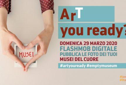 #artyouready: il flashmob fotografico sui social media che celebra il patrimonio culturale italiano privo di pubblico