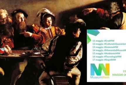 #MuseumWeek 2020: le opere d'arte dei musei italiani sui social media con 7 temi e 7 hashtag dall'11 al 17 maggio
